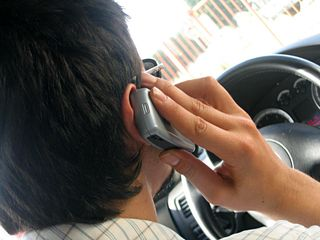 Don't talk or text on your cell phone while driving
